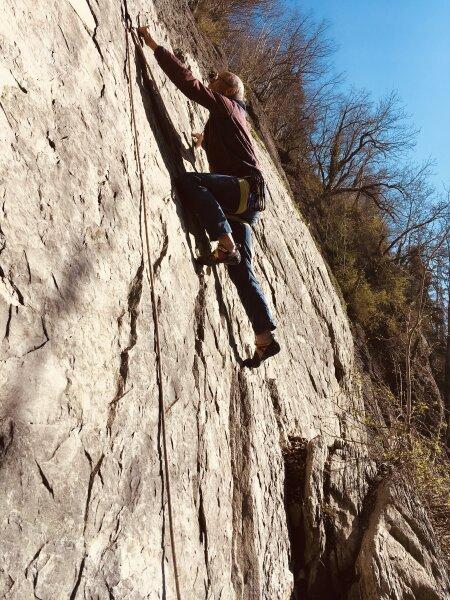 Wenn wir nicht am Fels sind... -